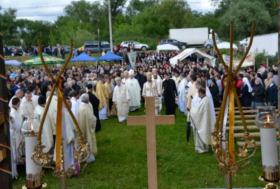 Sighetu Marmației - Cântări și rugăciuni pentru martirii Bisericii Catolice din România